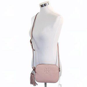 Tory Burch Thea Crossbody Camera Bag Pink Quartz